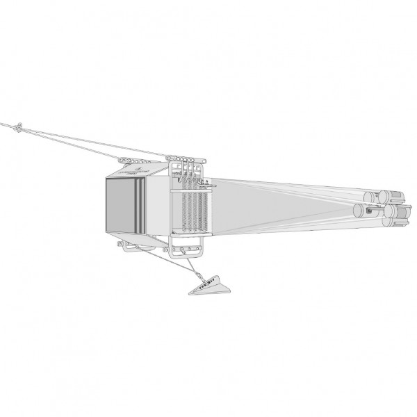 Échantillonneur de plancton multiple MultiNet
